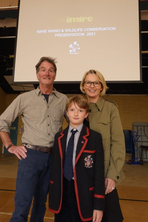 Swanbourne House School, Rhino Conservation Lecture